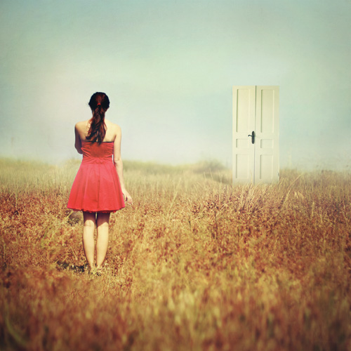 girl-at-a-new-door-out-in-field