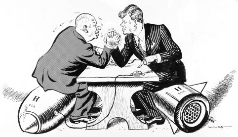 Kennedy and Khrushchev play chicken with the fate of the world