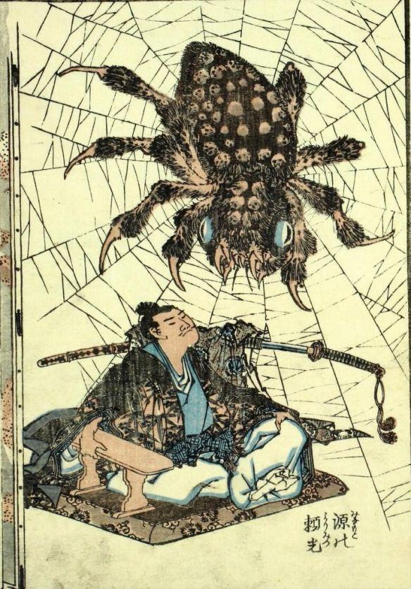 6335de7387bea1adbf663efea440bd25-giant-spider-japanese-folklore